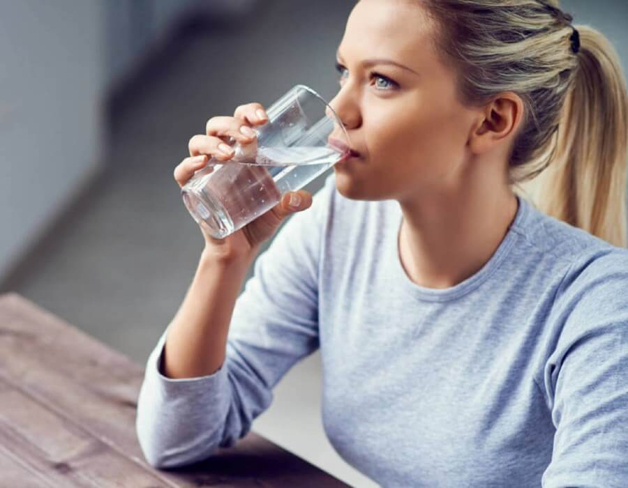 El consumo de agua
